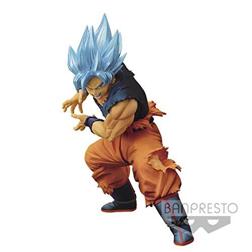 Oferta de Ban Presto Dragon Ball Z - Figurine Super Saiyan God Maximatic Son Goku, 20cm