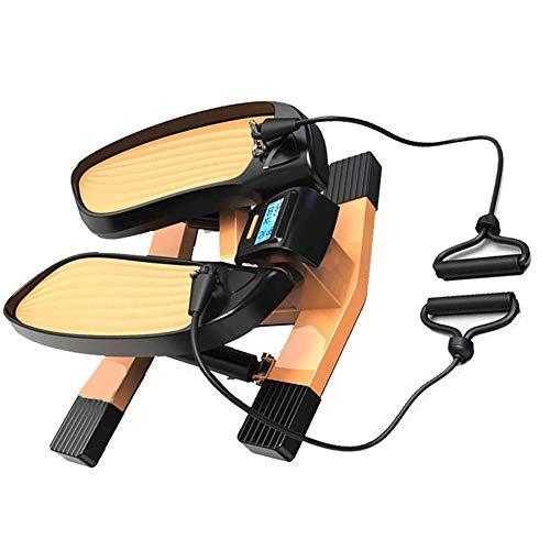 Mini Heimtrainer mit App, Stepper Crosstrainer für Bewegung im Büro Alltag & zuhause, Arbeitsplatz Gesundheit, kein höhenverstellbarer Schreibtisch nötig Bein- & Pedaltrainer.