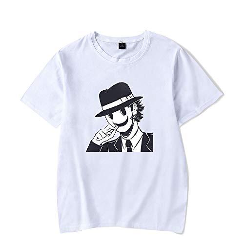 De.Pommeyeux Alta altura invasión 2021 Anime Sniper Kamen 100% algodón camiseta mujeres/hombres casual manga corta camiseta