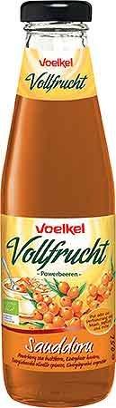 Voelkel Bio Sanddorn - Vollfrucht mit Agave (1 x 500 ml)