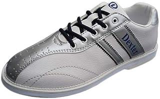 Dexter ボウリング シューズ Ds38 ホワイト・シルバー デクスター ボウリング用品 靴 ボーリング グッズ