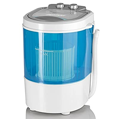 Mini-washing machine, camping washing machine also for single households 260W with centrifugal function. Improved version model year 2017 (10 litres)