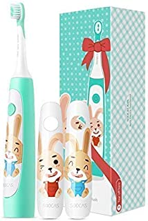 Sonic Electric Toothbrush for Kids, Soocas Xiaomi Rechargeable Power Toothbrush with Interactive Coaching Bluetooth APP for 4-12 Years Kids