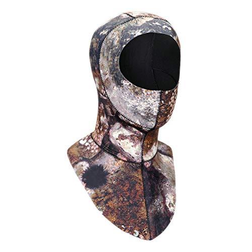 EFINNY Capucha de Buceo de Neopreno de 3 mm con Gorro de Pesca submarina en el Invierno Natación de esnórquel Gorra cálida Gorra de Surf Gorras de Buceo