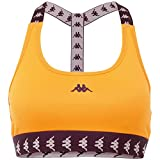 Kappa Sujetador Deportivo Haida para Mujer, Mujer, Sujetador Deportivo, 308038, Naranja Pop, Medium