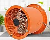 XGHW Extractor de Alta Potencia Ventilador utilitario Ventilador de Alta Velocidad Tubo de ventilación Humo Polvo Bajo Nivel de Ruido Gran Volumen de Aire Inodoros industriales/baños/cobertizos/Talle