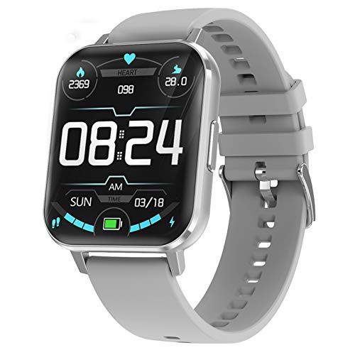 """Waterpoof Smart Watch for Android iOS Phones, 1.78"""" Full Touchscreen GPS Running Fitness Watches for Men Women, Sleep Tracking Watch with Heart Rate Blood Pressure SpO2 Monitor"""