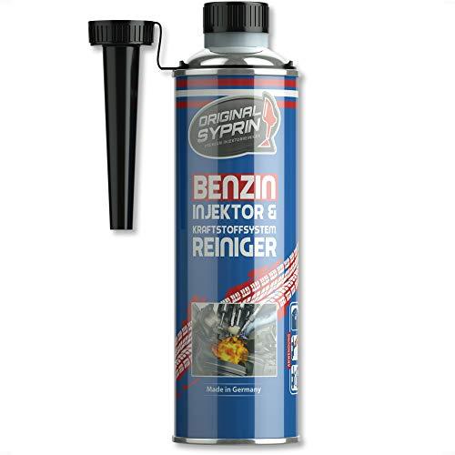 SYPRIN Limpiador de inyectores Gasolina para Sistema de Moto I Limpieza y Tratamiento de inyectores válvulas inyección por Coches y Motocicleta - 500ml
