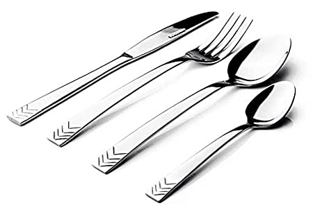Sabichi's stainless steel cutlery set