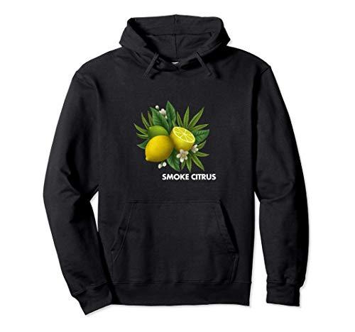 Fumar Marihuana Citrus Lemon Kush Sudadera con Capucha