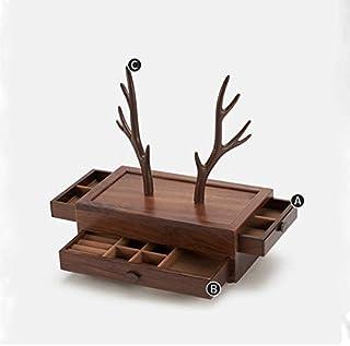Attrezzatura vivente Portagioie Organizzatori Portagioie Portagioie da donna Portagioie in legno Scatola portagioielli da ...
