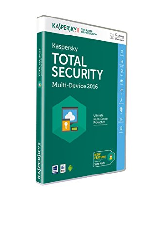 Kaspersky - Total Security - Multi-Device 2016 (5 Appareils, 1An)