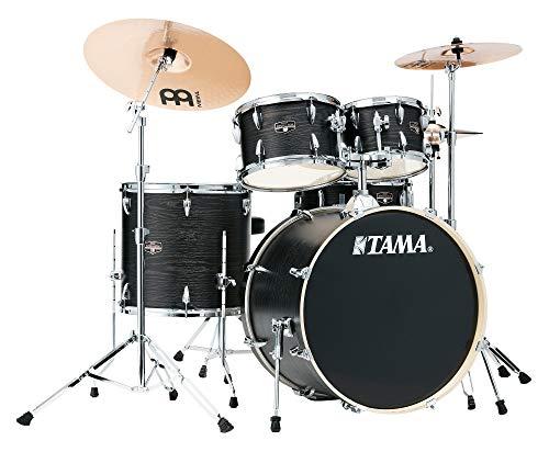 Tama IE52KH6W Black Oak Wrap - Batteria Acustica Completa con Hardware e Sgabello