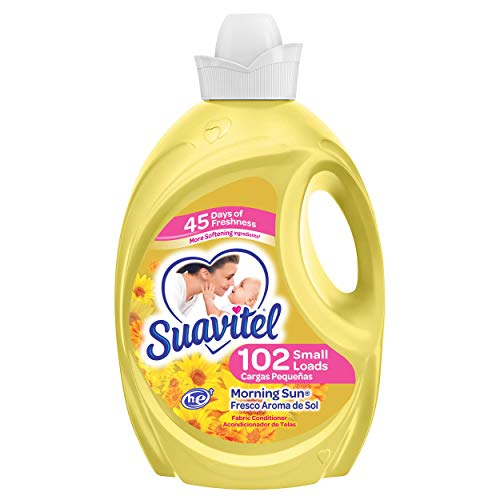 Suavitel Fabric Softener, Morning Sun - 120 fluid ounce