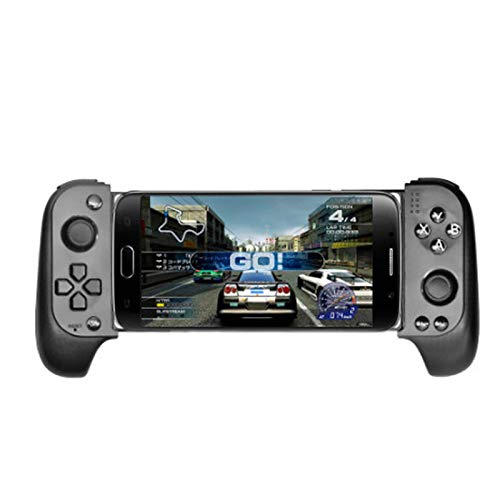 Manette de Jeu Gamepad sans Fil Bluetooth Joypad Joystick pour Extendable Android/iOS Phone Tablet PC Windows,A