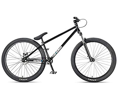 "Mafiabikes Blackjack D 26"" BMX Jump Bike Wheelie Bike (Black)"