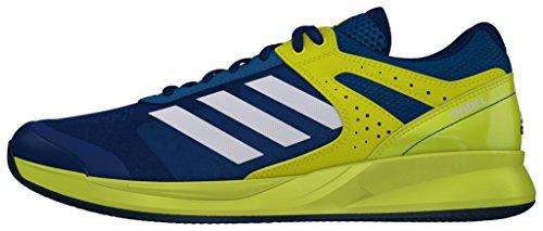 adidas Adizero Court Padel, Zapatillas de Tenis para Hombre, Azul (Azuuni/Ftwbla/Limsho), 45 1/3 EU