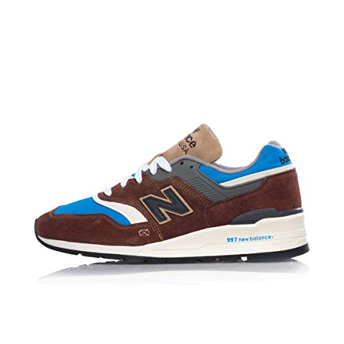 New Balance M997SOE, Industrial Shoe Hombre, Multicolor, 42.5 EU