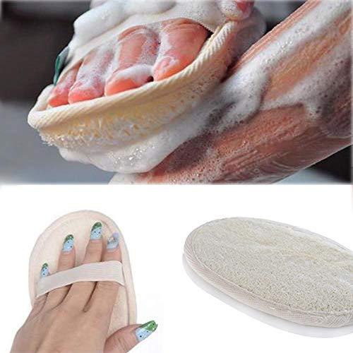 New Natural Loofah Bath Shower Sponge Body Scrubber Exfoliator Washing Pad accessoires de salle de bains Léger, Durable 628, États-Unis