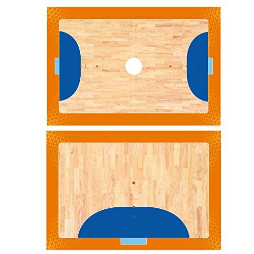 Haberdashery Online Pizarra Deportiva Doble Cara Táctica. Tabla de Entrenamiento Personalizada Logotipo Equipo (HANDBOL)