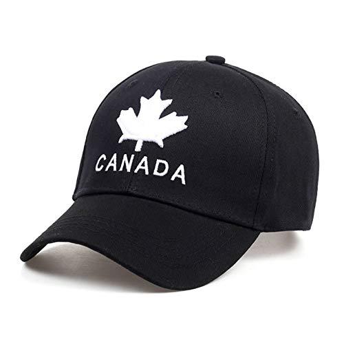 CXKNP Baseballmütze Neue Baumwolle Baseball Cap Kanada Stickerei Hysteresenhüte Für Männer Und Frauen Caps Hut Gorras
