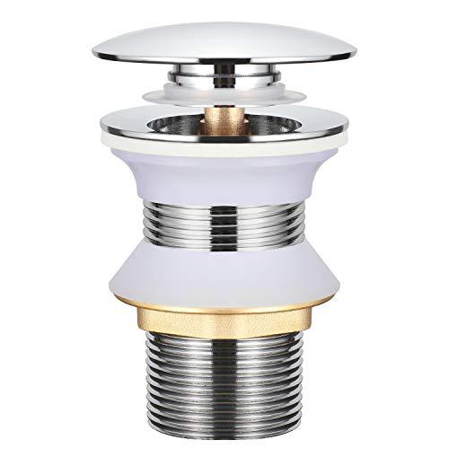 BONADE Universal Ablaufgarnitur ohne Überlauf G1-1/4