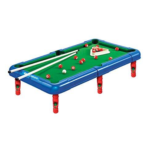 Kindertischspiele, Billard Spiel Tabletop Pool Petite Billard mit kleineren Mini Billardtisch for Erwachsene und Chindren Mini Tisch Pool (Farbe: Grün, Größe: 43x24x12cm) Zixin