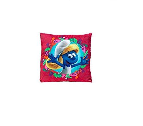 35cm Children's Licensed Smurf Red Cushion - Children's Bedroom Decor - Smurfs Movie