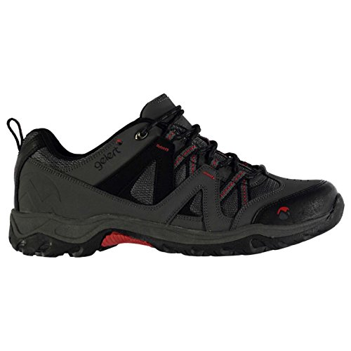 Gelert Herren Ottawa Wanderschuhe Trekkingschuhe Outdoor Schuhe Schnuerschuhe Charcoal 7 (41)