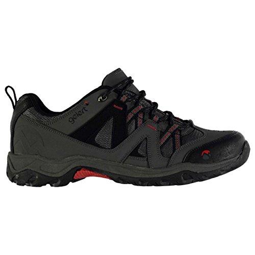 Gelert Herren Ottawa Wanderschuhe Trekkingschuhe Outdoor Schuhe Schnuerschuhe Charcoal 13 (47)