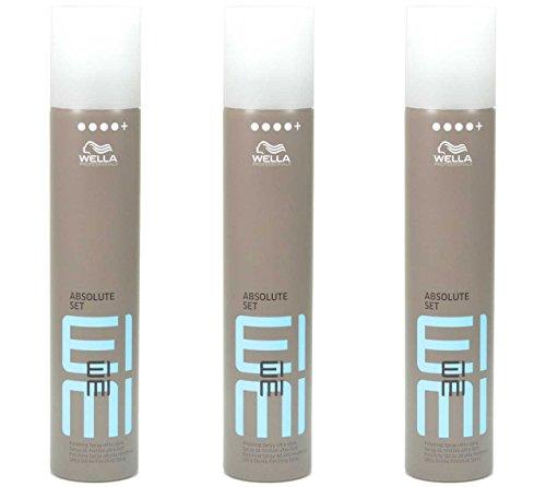 3x Wella EIMI ABSOLUT SET Finishing Haarspray ultra stark - 500ml (3´er Pack)