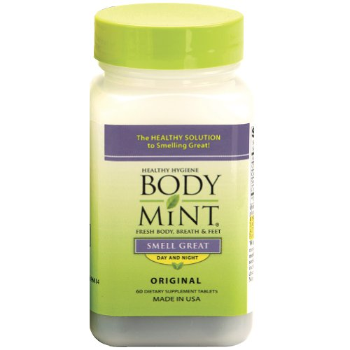 Body Mint Deodorant Tablet---Keeps your breath, underarms and feet smelling great even if you perspire