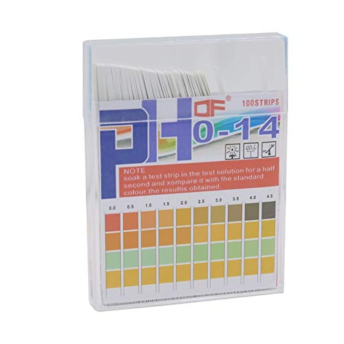 WSN Universal-pH-Teststreifen, Urintest zum Testen von Humansäure-Alkali-messbarem Vollbereich 0-14