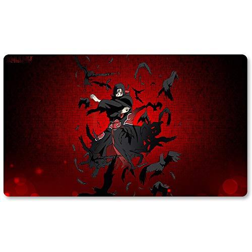 Naruto – Brettspiel Pokemon Spielmatte Spiele Mousepad Tastatur Pad Größe 60 x 35 cm Tischmatten für Yugioh Pocket Monster MTG oder TCG