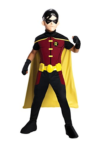 Rubie's Costume Young Justice Robin Child Costume, Large
