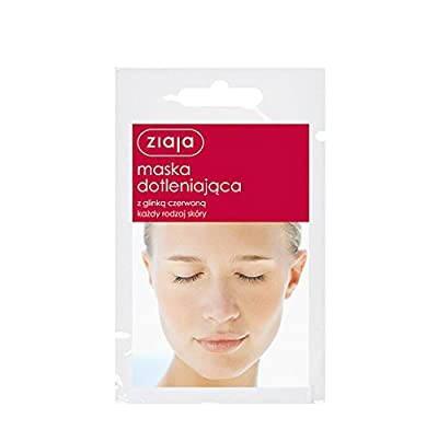 3 X Ziaja Face Mask - Oxygenating - With Red Clay - All Skin Types from ZIAJA
