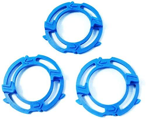 3 PCS Shaver SH50 Bracket Razor Holder Lock Ring shaver razor Retaining Plate Blade Holder for S5090 S5095 S5000 S5210 S5077 S5082 Accessories