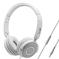 boAt BassHeads 900 On-Ear Wired Headphone with Super Extra Bass, in-line Mic, Snug Fit and Lightweight Foldable Design (Pearl White),boAt,Bassheads 900 White,headphones,headphone,head phone,head phones,headphone with mic,headphone with microphone,wired headphone with mic,wired head phones,headphone wired,headphones wired,headphones for mobiles,headphones with microphone,headphones with mic,head phones boat,headset,headset with mic,boat headphone,boat headphones,boat headphones original,wired hea