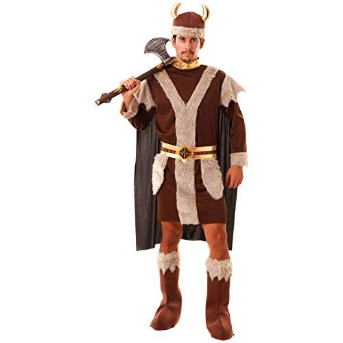 Kostüm Wikinger Größe XXL Wikingerkostüm Faschingskostüm Herrenkostüm Vikinger