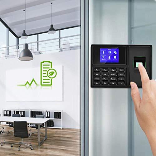 Sistema de asistencia Máquina de asistencia de huellas dactilares de plásticos ABS 11.2 * 5.7 * 1.9in, para fábricas(Estándar europeo (100-240v), Transl)