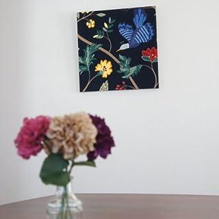 ファブリックアートパネル ボラスコットン/boras cotton BIRDLAND【R】/NABY 500×500mm