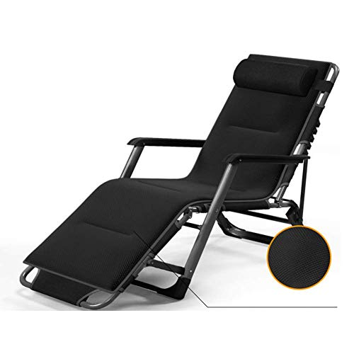 GLLSZ Folding Chair Patio Zero Gravity Lounge Chair Outdoor Reclining Lounge Chair Adjustable Chaise Lounge Chair For Outdoor Camping Lawn Beach-A1