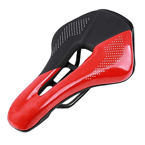 TSWEET Bike Seat, Most Comfortable Bicycle Seat Memory Foam Waterproof Bicycle Saddle - Best Stock Bicycle Seat Replacement for Mountain Bikes, Road Bikes