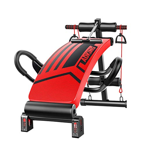 Adjustable Bench Adking Exercise Bench Sit Up Bench Slant Board Decline Ab Bench Crunch Board,Multi-Purpose Foldable Incline/Decline Bench,Abdominal/Hyper Back Extension Bench