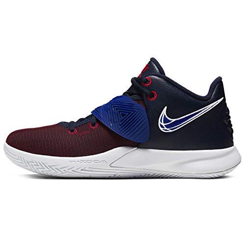 Nike Kyrie Flytrap Iii Hombres Zapatos De Basquetbol Bq3060-400, Azul (Obsidiana/Deep Royal Blue-gym Rojo-blanco), 44.5 EU