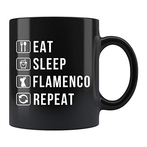 Taza de baile flamenco, regalo flamenco, taza de flamenco, regalo de España, taza de España, regalo de vacaciones de España, taza de cerámica, 15 onzas