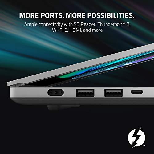 "Razer Blade 15 Studio Edition Laptop 2020: Intel Core i7-10875H 8-Core, NVIDIA Quadro RTX 5000, 15.6"" 4K OLED Touch, 32GB RAM, 1TB SSD, CNC Aluminum, Chroma RGB, Thunderbolt 3, Creator Ready"