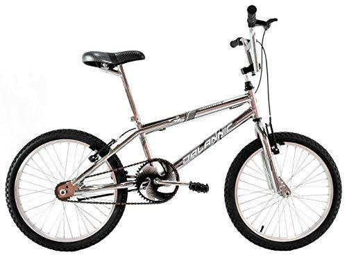 Bicicleta Aro 20 Cross Bmx Freestyles Masculina Cromada