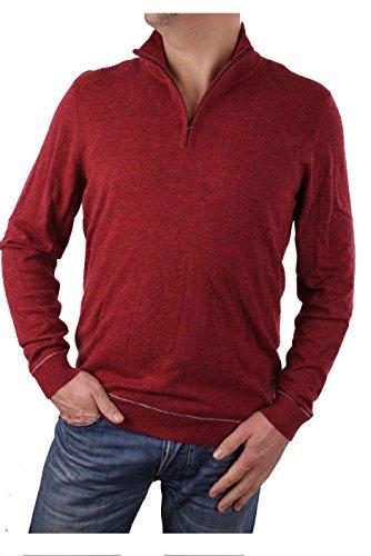 Timberland Suéter de los Hombres de los Hombres de Jones Brook 1/2 Zip (Medium, Rojo)