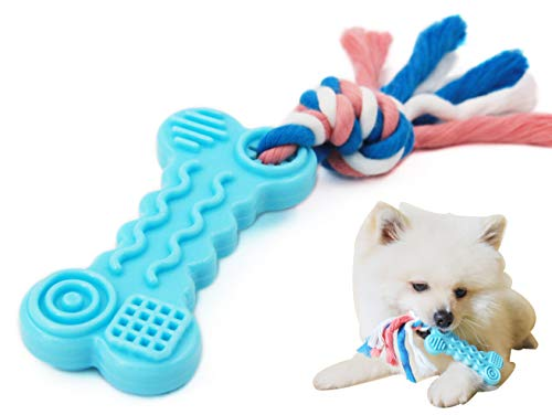 Comtim Durable Teething Chew Toy with Rope